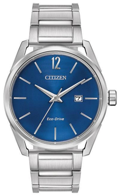 Citizen Eco Drive Men's CTO - Check This Out Stainless Steel Watch BM7410-51L