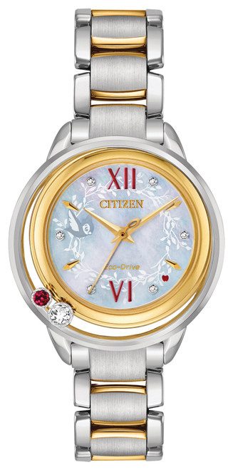Citizen Eco Drive Women's Disney Princess Snow White Diamond Two-Tone Watch EW5564-54D