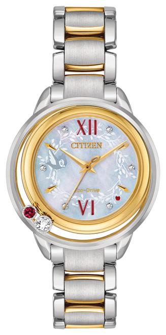 Citizen Eco Drive Women's Disney Princess Snow White Diamond Two-Tone Watch EW5564-54D