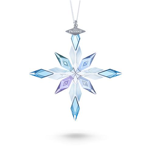 Swarovski Crystal Disney Frozen 2 Snowflake Ornament Blue 5492737