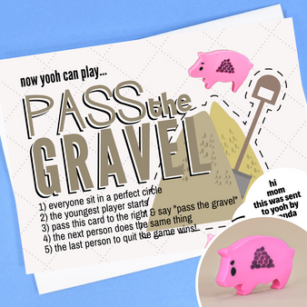 pass the gravel game