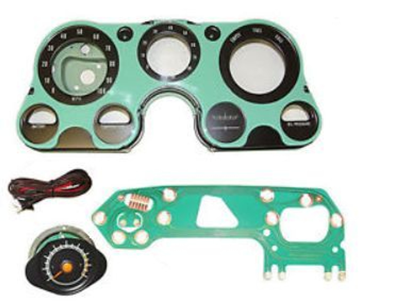 [DIAGRAM_38YU]  1967-72 Chevy/GMC PU Tachometer Conversion Kit. (w/custom 8000 RPM  tachometer)(includes 8000 RPM tachometer, printed circuit, instrument lens,  front and back gauge housings, and tach wiring harness) - Southwest Classics | Chevy Tach Wiring |  | Southwest Classics