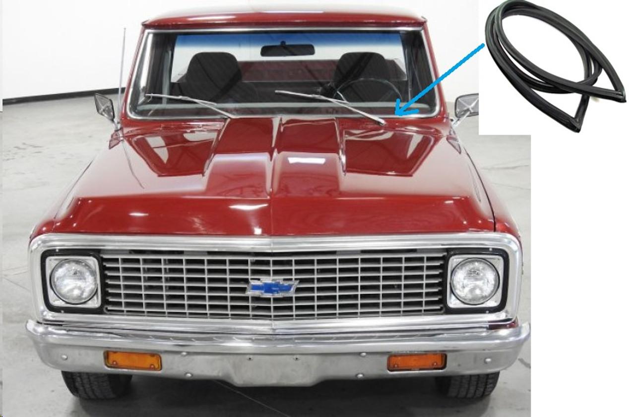 1967-70 Windshield Seal Chevy GMC Pick-up Blazer Jimmy Suburan w//trim groove