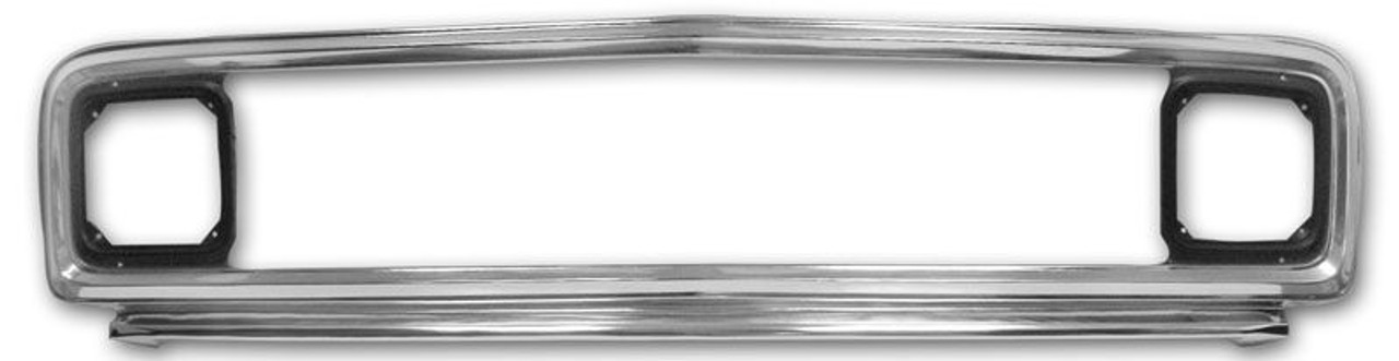 1971-72 Chevy PU Outer Grille Assy (highly polished) ea.