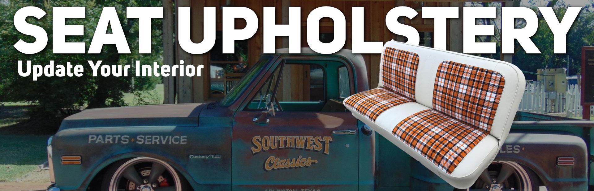 Pickup Seat Upholestry
