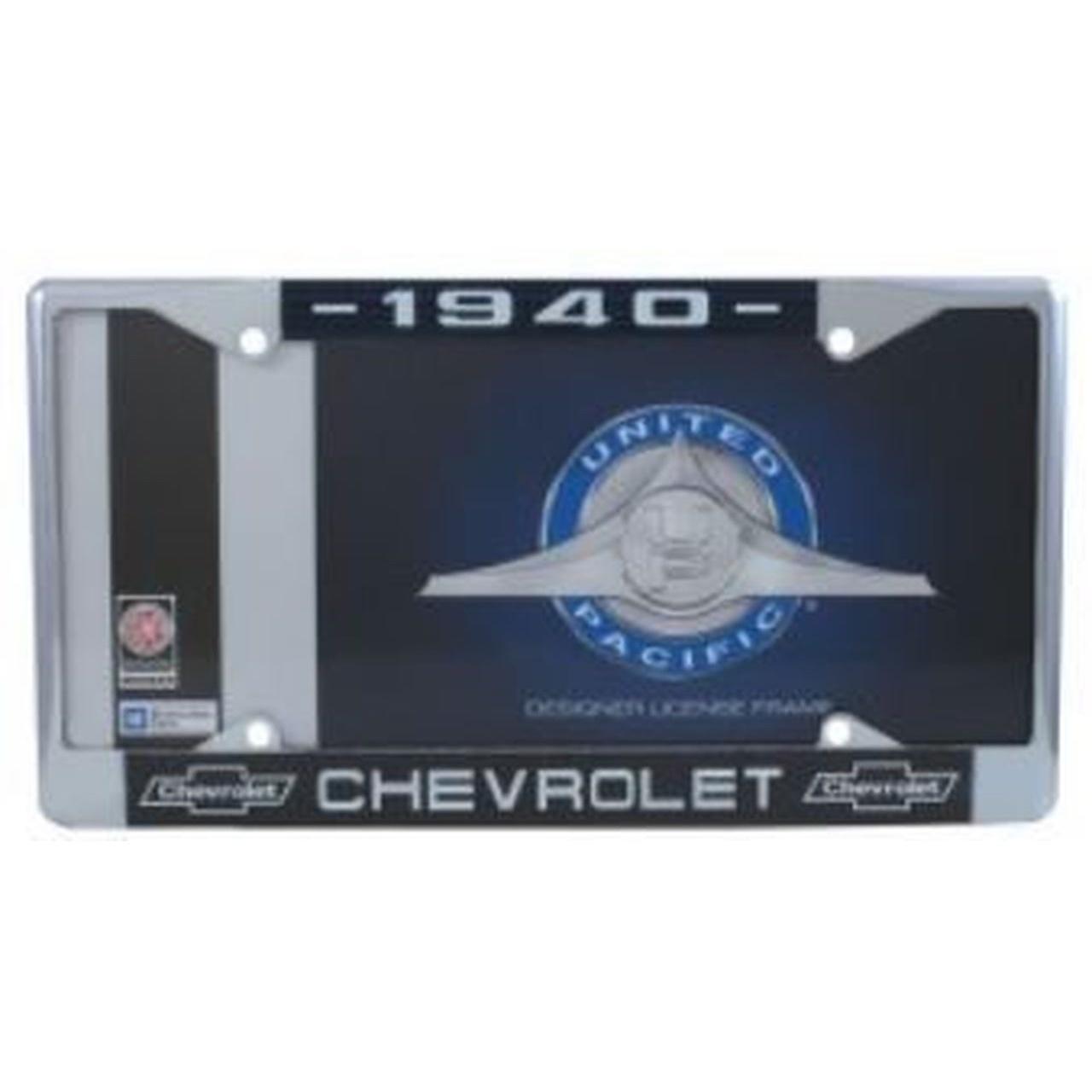 License Plate & Frame
