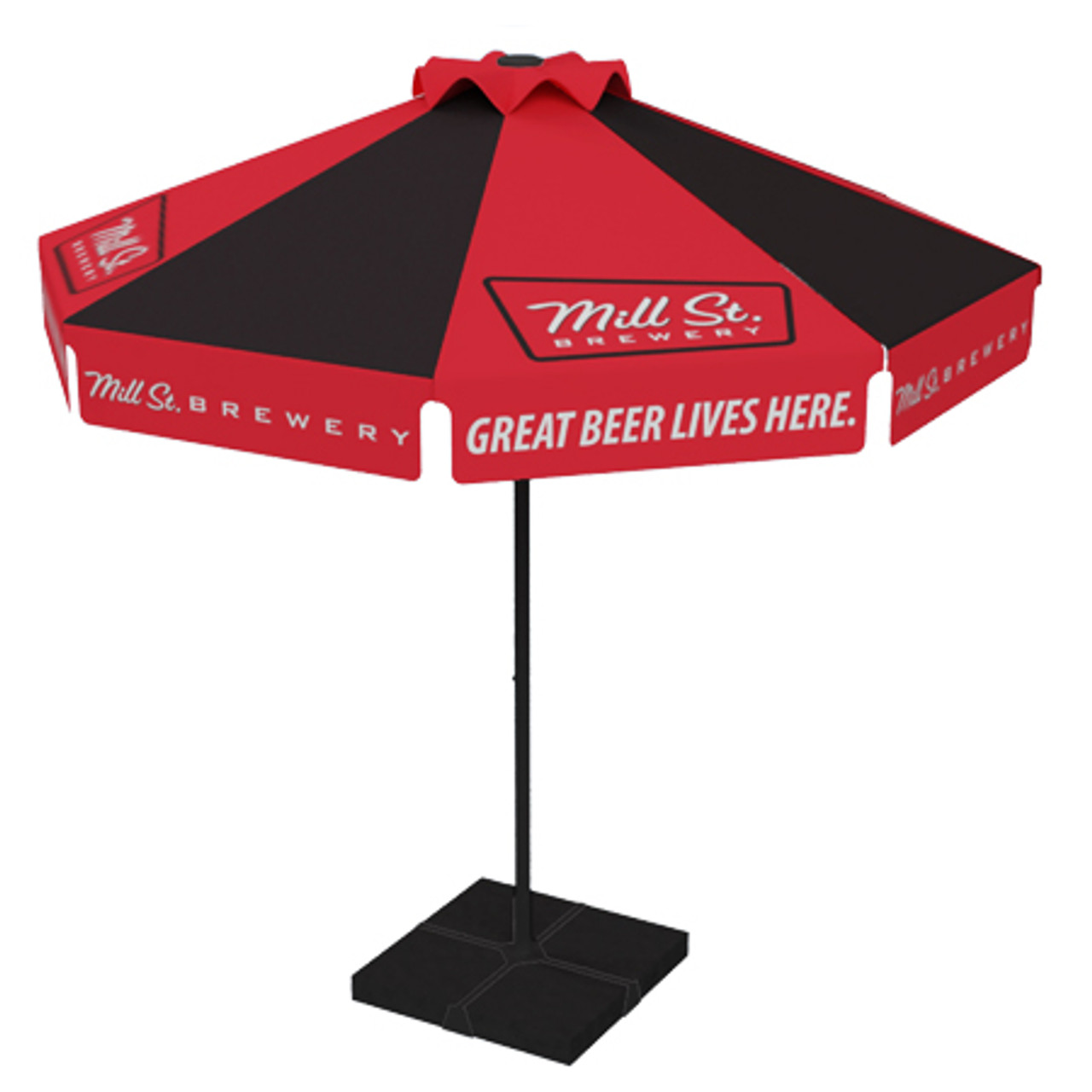Mill St Brewery Umbrella - UBC Group