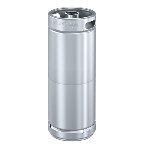 Schaefer Sudex Keg, 20L, Stackable, D-type Fitting, Stainless Steel 304