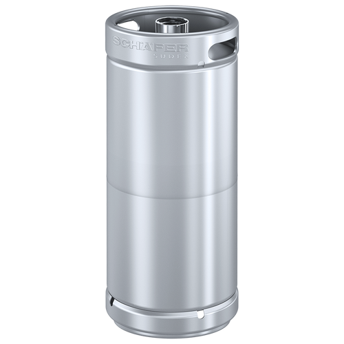 Schaefer Sudex Keg, 30L, Stackable, D-type Fitting, Stainless Steel 304