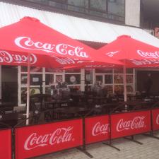 Coca-Cola patio umbrella