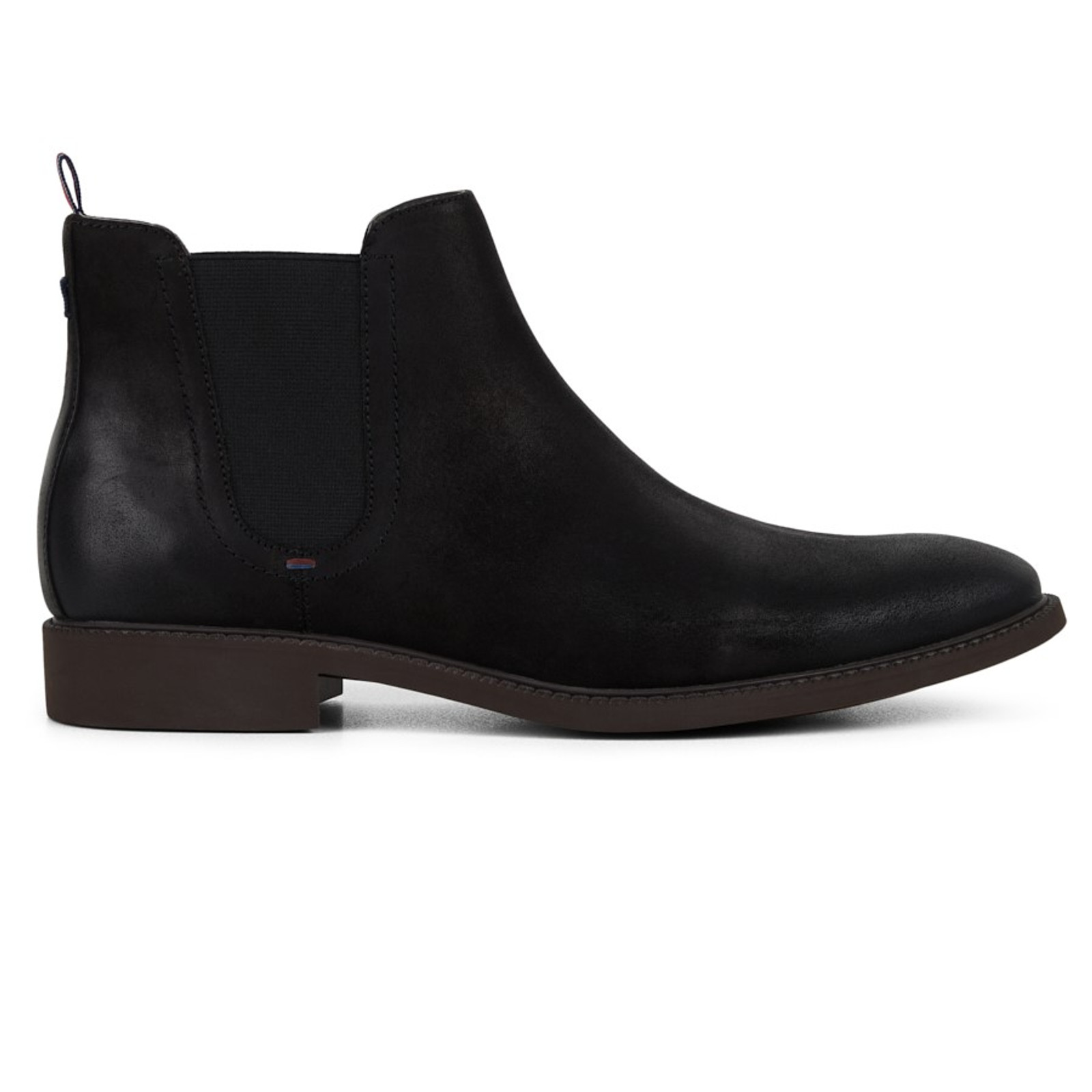 Julius Marlow  HUMMER Black Waxed Suede
