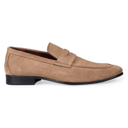 Julius Marlow Lax Light Taupe Suede