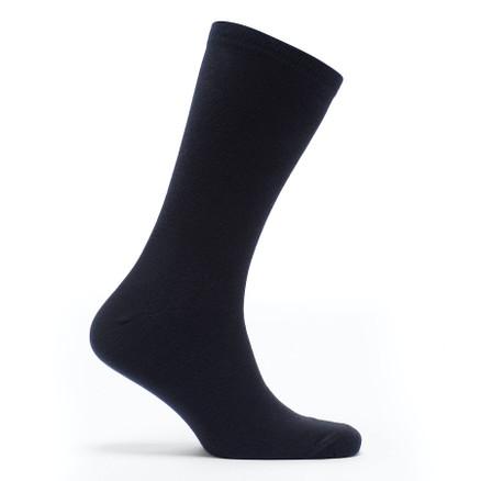 Julius Marlow Plain Sock 5 Pack Black