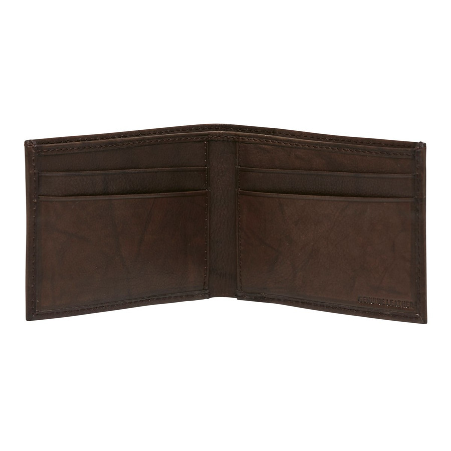 Julius Marlow Capri   Wallet Chocolate