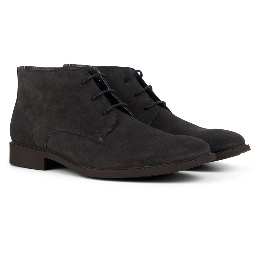 Julius Marlow Harness Dark Grey Suede