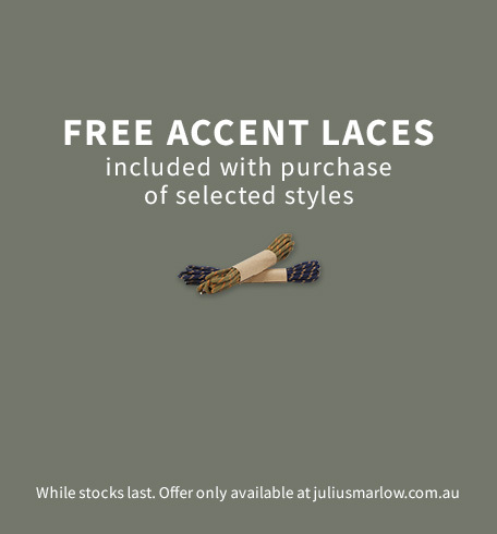 Free Accent Laces with selected Hiking Boots