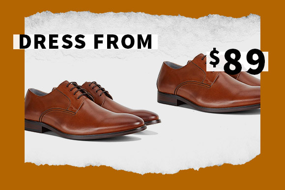 SALE DRESS SHOES FROM $89