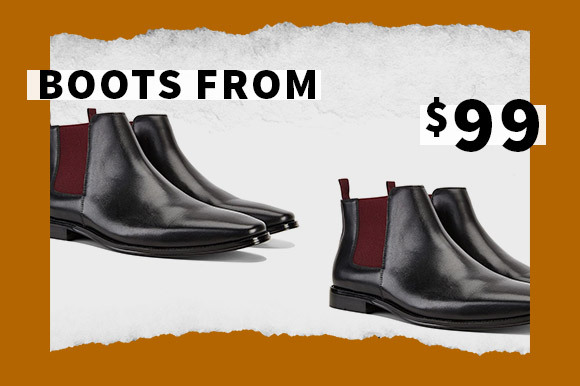 SALE BOOTS FROM $99