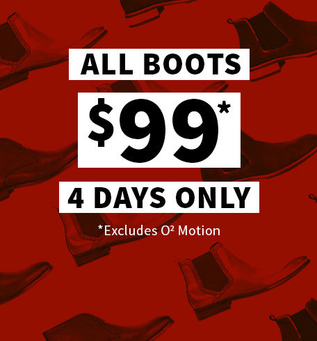All Boots $99