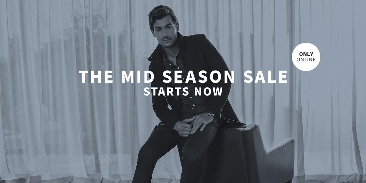 Mid Season Sale Starts Now