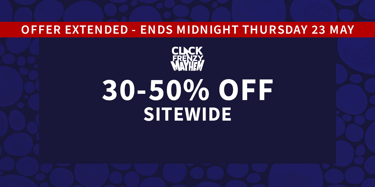 30-50% off Sitewide