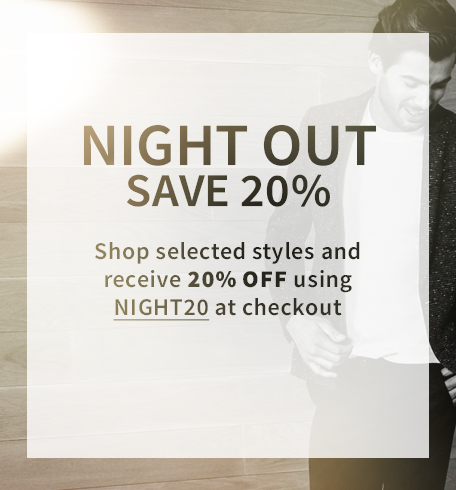 20% off selected styes
