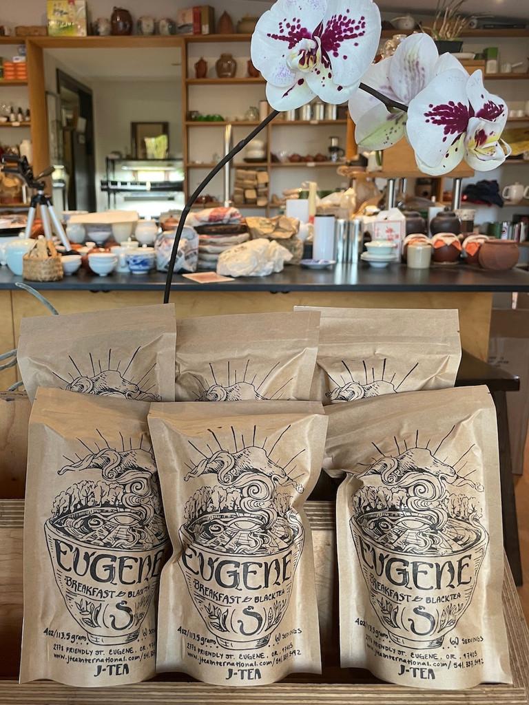 Eugene Breakfast Black Tea 1/4 lb. package