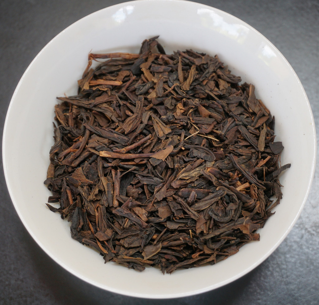 aged oolong tea loose leaf