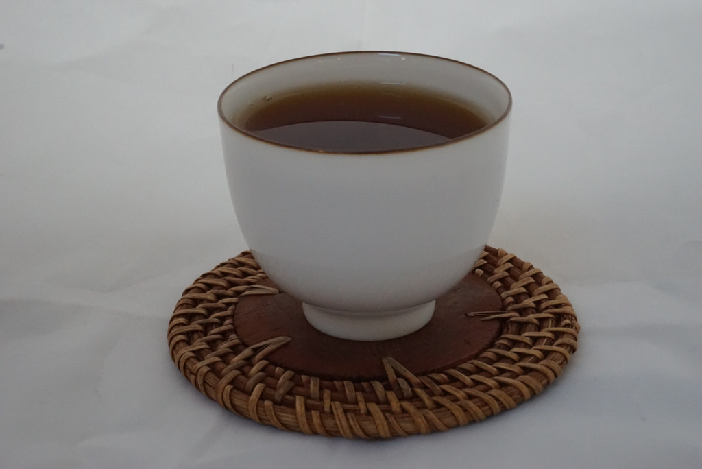 Cup of 2005 liu bao tea