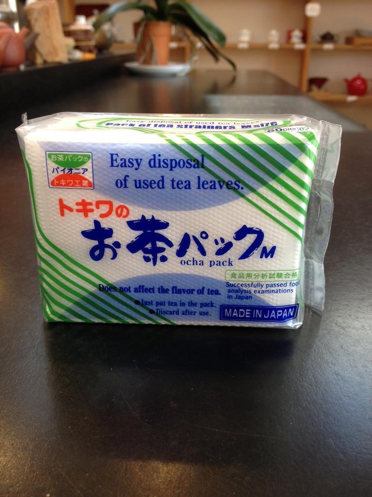 Ocha pack empty teabag for loose leaf tea