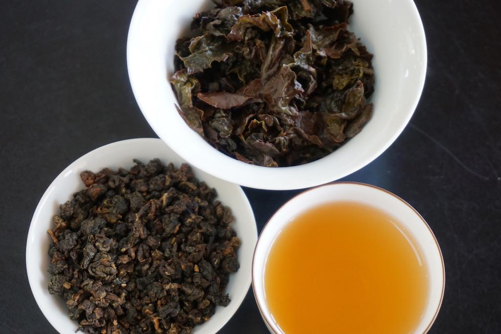 Star Bright Oolong Tea Soup Loose Leaf Brewed Leaf