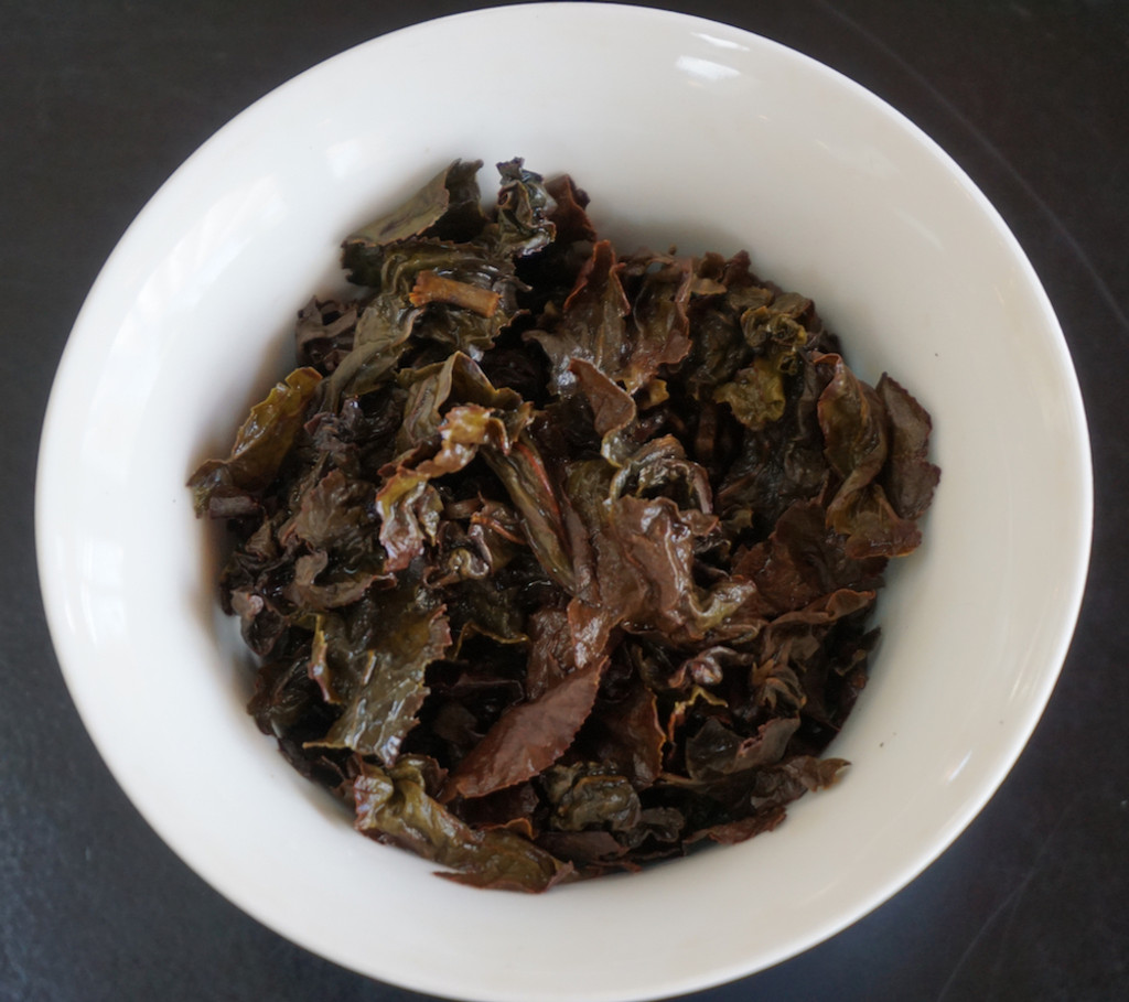 Star Bright Oolong Tea Brewed Leaf