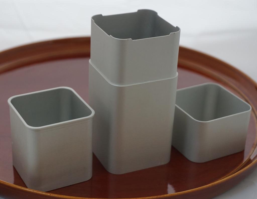 Modern Double Chamber Tea Caddy