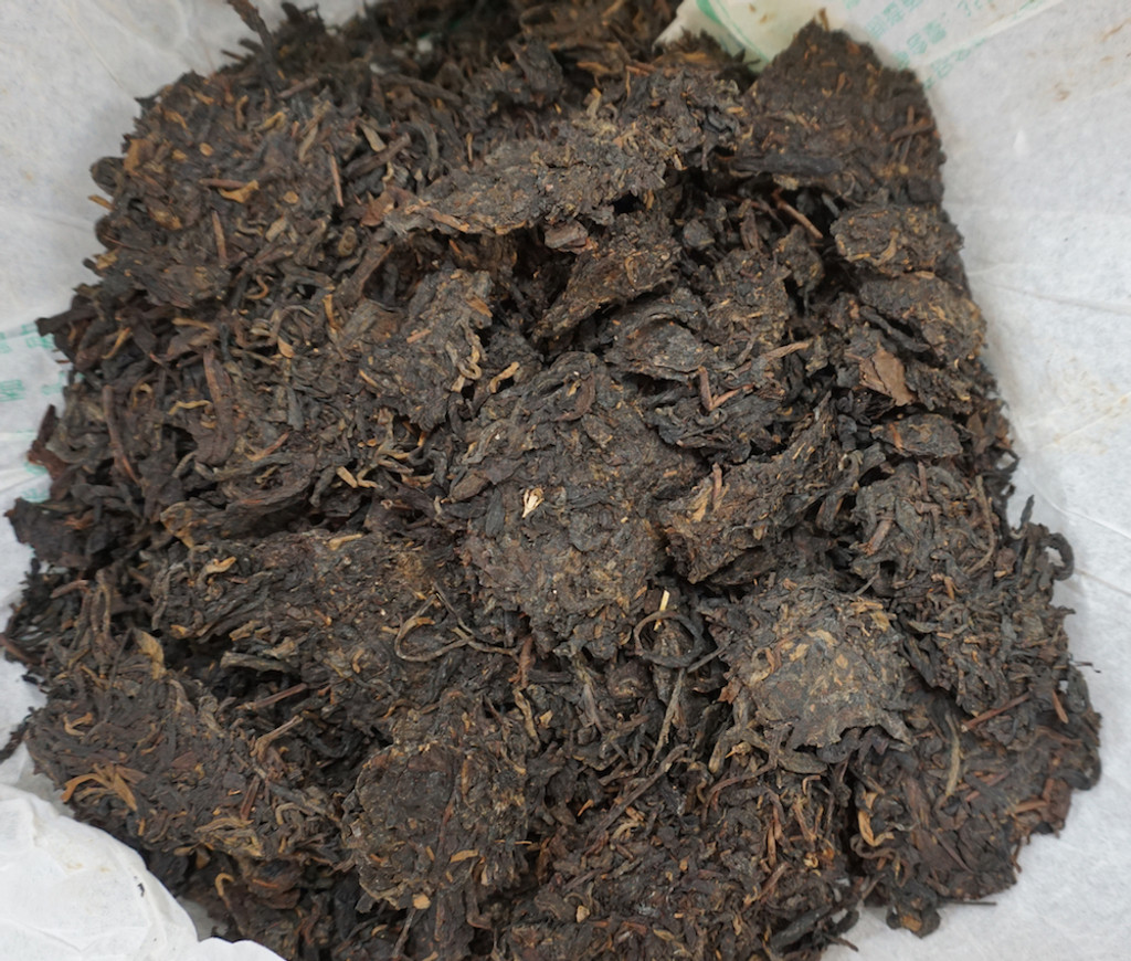 Raw Puer 2005 Da Yi Factory Tea