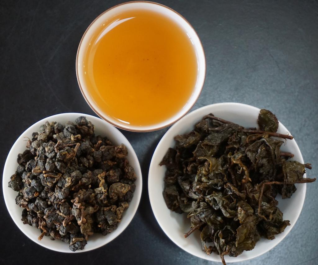 Tea picture shan lin xi oolong tea