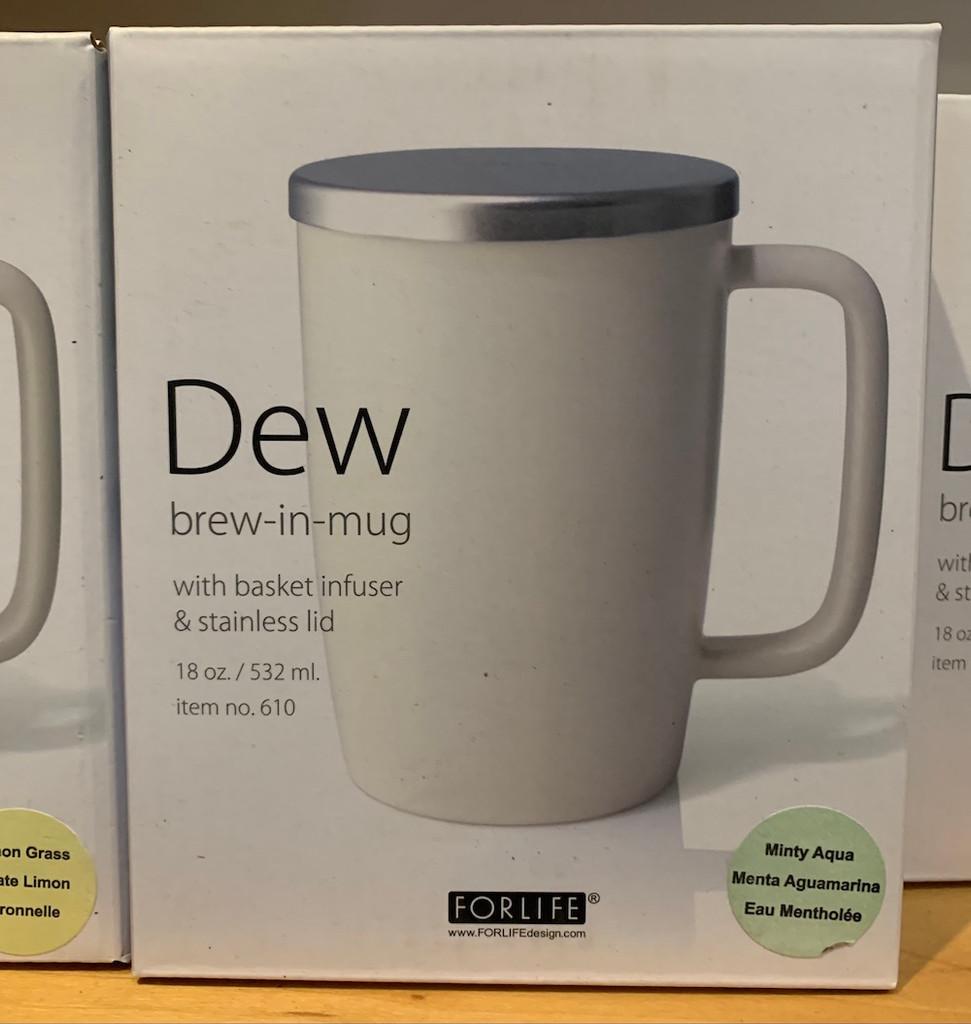Dew Mug and Strainer