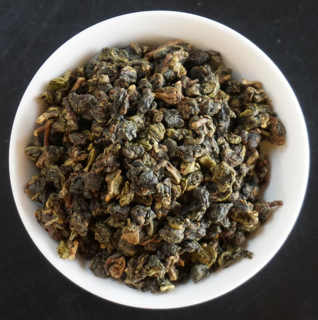 Jasmine Oolong from Taiwan tea leaf