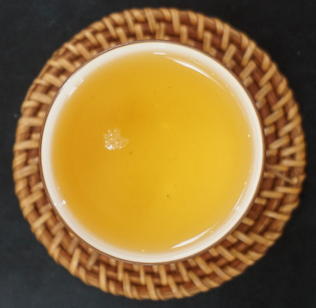 Jasmine Oolong from Taiwan tea soup