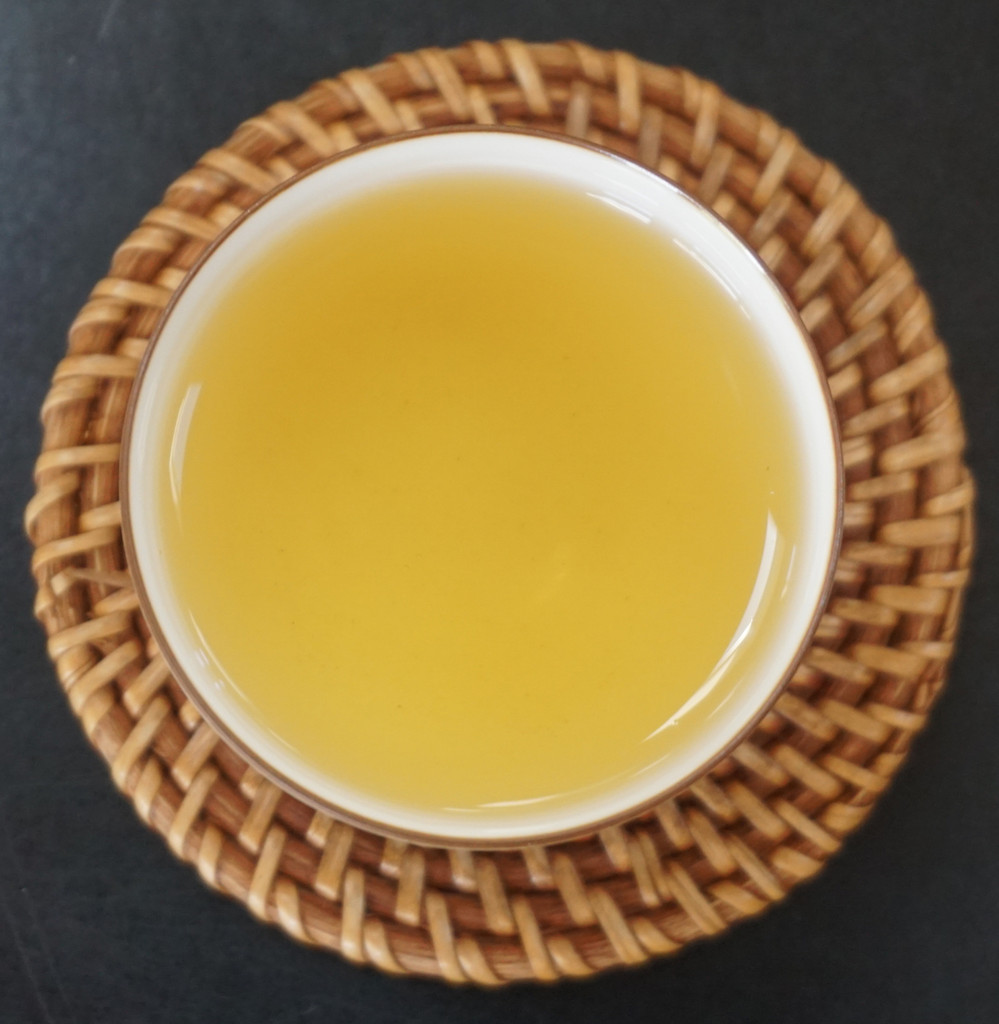 golden lily oolong tea soup Taiwan