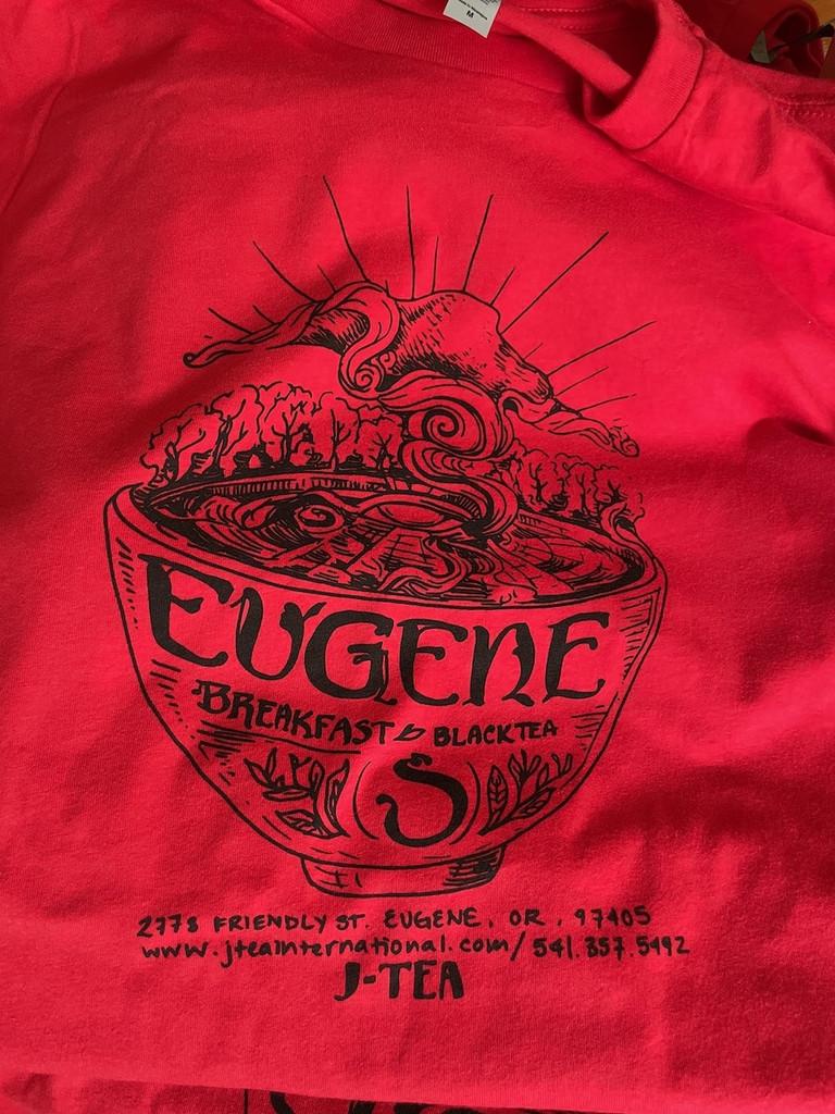 Eugene Breakfast Unisex Tea Shirt
