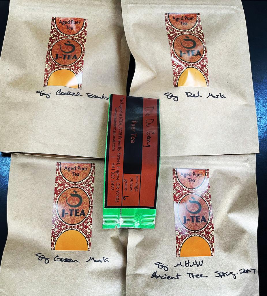 Puer Tea Sample Pack I