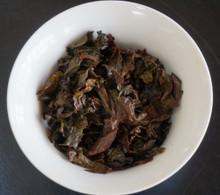 Star Bright Oolong Tea Brewed Leaf