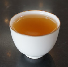 Tulsi herbal tea brewed strong!!! holy basil