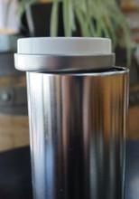 Tea Tin Silver