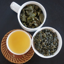golden lily oolong tea Taiwan leaf soup