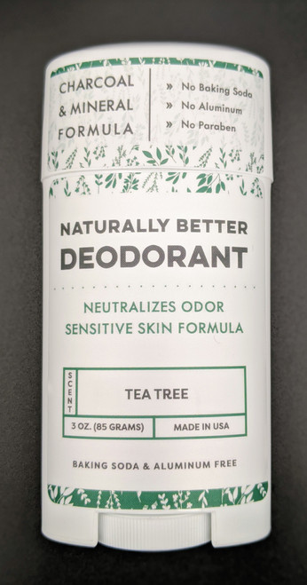 DaySpa All Natural Organic Tea Tree Deodorant Stick Front | Naturally Montana