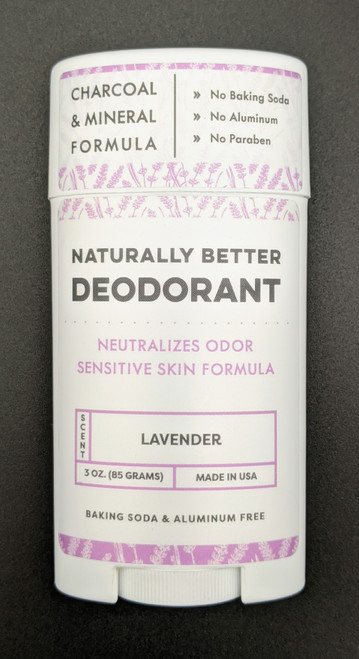DaySpa All Natural Organic Lavender Deodorant Stick Front| Naturally Montana