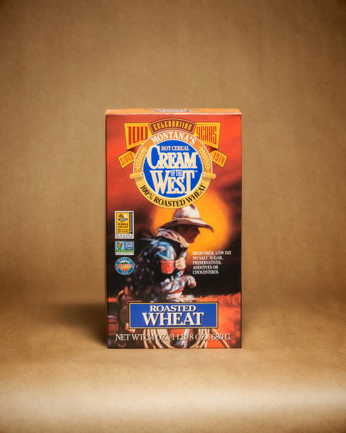 Cream of the West 100% Roasted Wheat Hot Cereal | Naturally Montana