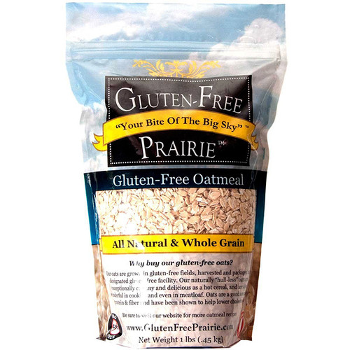 1 lb Gluten-Free All Natural Oatmeal | Naturally Montana