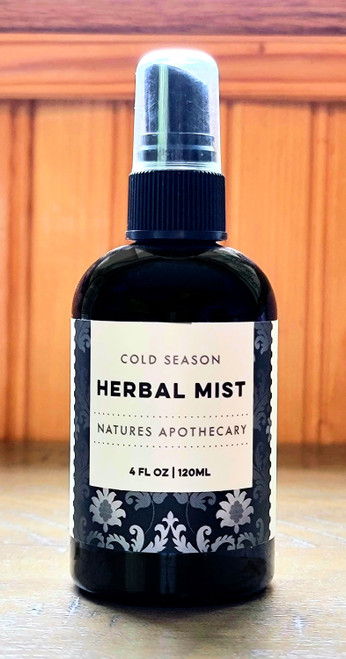 DaySpa All Natural Organic Apothecary Cold & Flu Bed & Body Herbal Mist   Natural cold & flu remedies   Naturally Montana